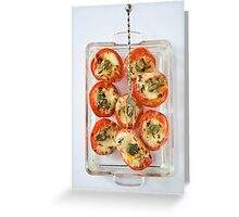 Finger food Greeting Card