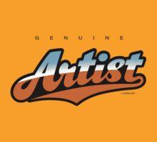 GenuineTee - Artist (blue/brown) by GerbArt