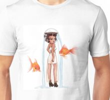 Goldfish Girl Unisex T-Shirt