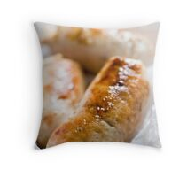 sausage Throw Pillow