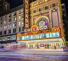 Iconic Chicago Theatre by zl-photography