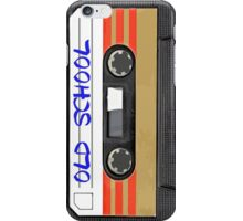 Old School Music Cassette Tape iPhone Case/Skin