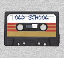 Old School Music Cassette Tape by RestlessSoul