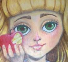 Apple Cherry Strudle Sticker