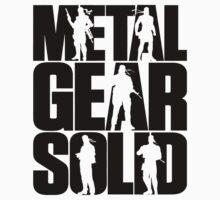 Metal Gear Solid (Black) Kids Clothes