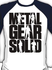 Metal Gear Solid (Black) T-Shirt