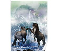 SeaHorses (Collaboration with Gene Praag) Poster