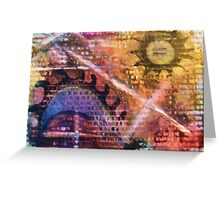For The Love of Christ Greeting Card