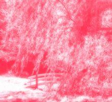 In Lieu of Cherry Blossoms... Sticker