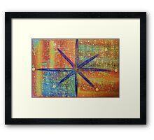Star Dazed Framed Print