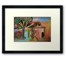 Where The Cows Live Framed Print