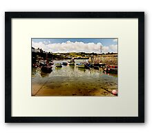 Ripples, Ropes, and Reflections Framed Print