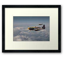 Mustang P51 - 442Sqdn RCAF Framed Print