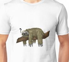 Confused Sloth Unisex T-Shirt