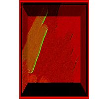 3D-SHADOW BOX-ABSTRACT Photographic Print