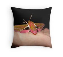 Pink Elephants DO fly... Throw Pillow