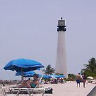 Beach, Key Biscayne Florida by Patricia Roberts