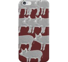 Pigs iPhone Case/Skin