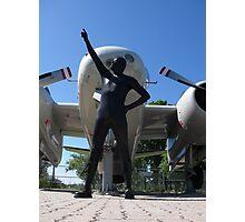 Airforce Way Zentai 03 Photographic Print