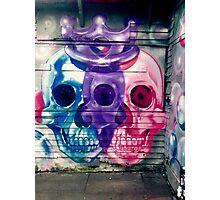 Royal skull Photographic Print