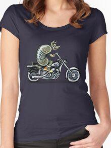 Biker Dillo Women's Fitted Scoop T-Shirt