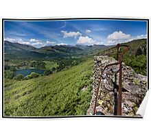 Loughrigg fell Wall Poster