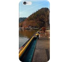 River Danube valley, at the harbour | waterscape photography iPhone Case/Skin