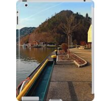 River Danube valley, at the harbour | waterscape photography iPad Case/Skin