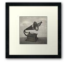 Vintage Songbird (mono)  Framed Print