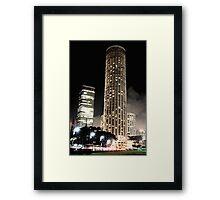 Raffles City Framed Print