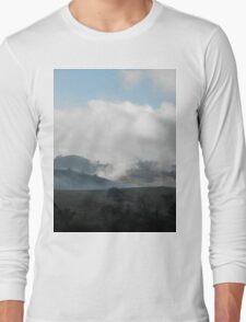 High Mist or Low Cloud? Gundagai, Australia. Long Sleeve T-Shirt