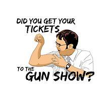Dwight Schrute - The Gunshow by Bujjoh