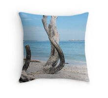 Serenity Sannibel Island Throw Pillow