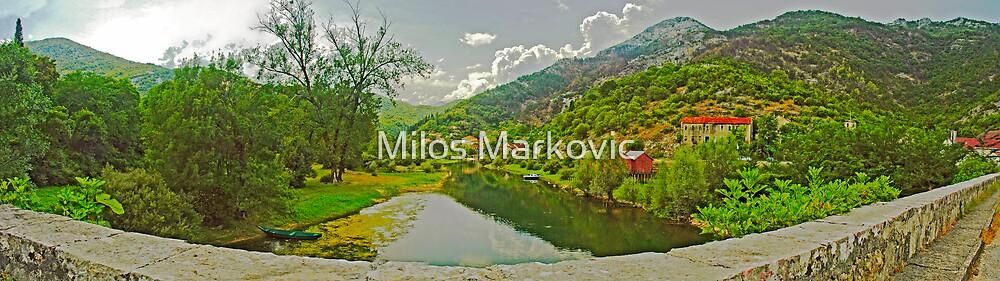 Rijeka Crnojevića by Milos Markovic