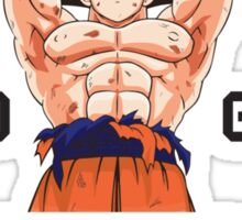 Training to go Super Saiyan 1 Sticker