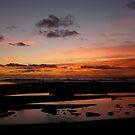 """""""Cornucopia Sunset - Red&Blue"""" by Tim&Paria Sauls"""