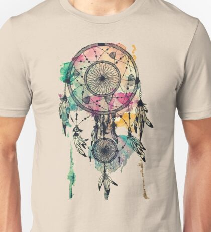 Poetry of a dream catcher Unisex T-Shirt