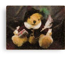 The Bard (Bear) Canvas Print