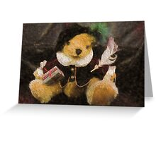 The Bard (Bear) Greeting Card