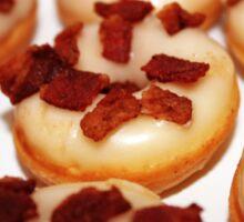 Maple syrup & bacon mini donuts Sticker