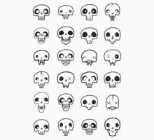 Skull me up Baby Tee