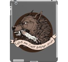 Lupus Brown iPad Case/Skin