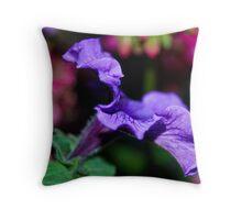 Purple Colorspot Throw Pillow