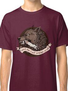 Lupus Brown Classic T-Shirt
