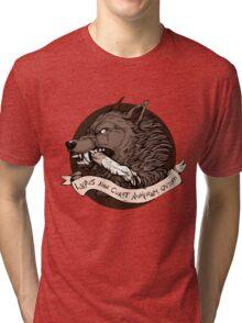Lupus Brown Tri-blend T-Shirt