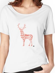 Hannibal- Stag Women's Relaxed Fit T-Shirt