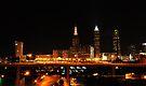 Cleveland Ohio Skyline V by PJS15204