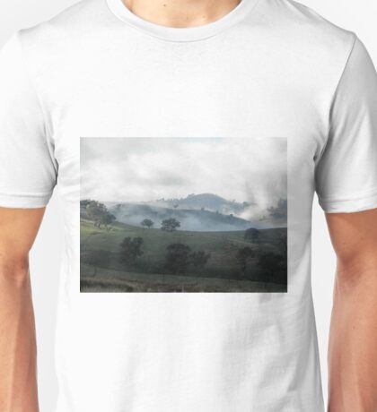 Heavenly Hills, Valley near Gundagai, NSW, Australia. Unisex T-Shirt