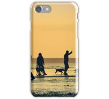 Low Tide Sunset - Hove #11 iPhone Case/Skin