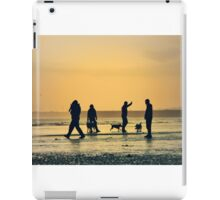 Low Tide Sunset - Hove #11 iPad Case/Skin